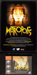 Movie Posters:Science Fiction, Metropolis (La Cinematheque Francaise, R-2011). Very Fine/...