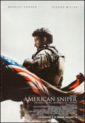"""Movie Posters:War, American Sniper (Warner Brothers, 2014). Rolled, Fine/Very Fine.Bus Shelter (48"""" X 70"""") DS Advance. War.. ..."""