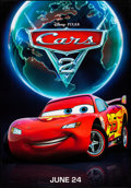 Movie Posters:Animation, Cars 2 (Walt Disney Pictures, 2011). Rolled, Very Fine.