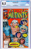 Modern Age (1980-Present):Superhero, The New Mutants #87 (Marvel, 1990) CGC VF+ 8.5 White pages....