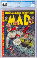 Golden Age (1938-1955):Humor, MAD #2 (EC, 1952) CGC FN+ 6.5 Cream to off-white pages....