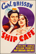 Movie Posters:Musical, Ship Cafe (Paramount, 1935). Very Fine- on Linen. ...