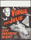 Movie Posters:Miscellaneous, Virgil and Julie: One Fantastic Night (Virgil Studios, 196...
