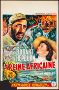 Movie Posters:Adventure, The African Queen (Metropolitan, 1952). Folded, Fine/Very ...