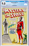 Silver Age (1956-1969):Science Fiction, Mystery in Space #79 (DC, 1962) CGC VF/NM 9.0 Cream to off-white pages....