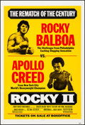 """Movie Posters:Sports, Rocky II (United Artists, 1979). Very Fine- on Linen. One Sheet (27"""" X 41"""") Fight Style. Sports.. ..."""