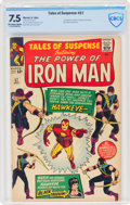 Silver Age (1956-1969):Superhero, Tales of Suspense #57 (Marvel, 1964) CBCS VF- 7.5 Off-white to white pages....