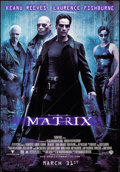 """Movie Posters:Science Fiction, The Matrix (Warner Brothers, 1999). Rolled, Fine/Very Fine. BusShelter (47.5"""" X 68""""). Science Fiction.. ..."""