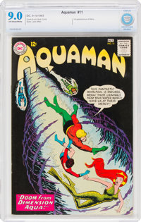 Aquaman #11 (DC, 1963) CBCS VF/NM 9.0 Off-white to white pages