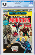 Bronze Age (1970-1979):Superhero, Marvel Premiere #28 The Legion of Monsters (Marvel, 1976) CGC NM/MT 9.8 White pages....