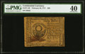 Continental Currency February 26, 1777 $30 PMG Extremely Fine 40