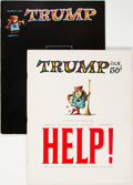 Magazines:Humor, Trump #1 and 2 Group (HMH Publishing, 1957) Condition: Average VF.... (Total: 2 Comic Books)
