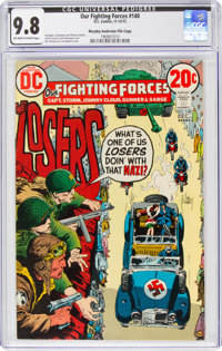Our Fighting Forces #140 Murphy Anderson File Copy (DC, 1972) CGC NM/MT 9.8 Off-white to white pages