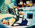 Memorabilia:Disney, Carl Barks A Hot Defense Miniature Signed Limited Edition Gold Plate Lithograph Print #91/100 (Another Rainbow, 19... (Total: 3 Items)