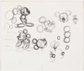 Animation Art:Production Drawing, Swabbies Unreleased Mickey Mouse Production Drawings Group of 53 (Walt Disney, 1989).... (Total: 53 Original Art)