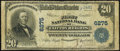 National Bank Notes:Pennsylvania, Clifton Heights, PA - $20 1902 Plain Back Fr. 661 The First NB Ch. # 6275 Very Good.. ...
