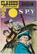 Golden Age (1938-1955):Classics Illustrated, Classics Illustrated #51 (1A) The Spy - First Edition (Gilberton, 1948) Condition: VF-....