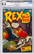 Golden Age (1938-1955):Miscellaneous, Adventures of Rex the Wonder Dog #1 Murphy Anderson File Copy (DC, 1952) CGC VF+ 8.5 Off-white to white pages....