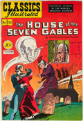 Golden Age (1938-1955):Classics Illustrated, Classics Illustrated #52 The House of the Seven Gables - First Edition (Gilberton, 1948) Condition: VF+....
