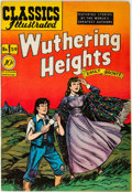 Golden Age (1938-1955):Classics Illustrated, Classics Illustrated #59 Wuthering Heights - First Edition (Gilberton, 1949) Condition: VF+....
