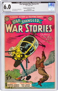 Star Spangled War Stories #19 Murphy Anderson File Copy (DC, 1954) CGC FN 6.0 Cream to off-white pages