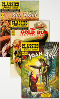 Golden Age (1938-1955):Classics Illustrated, Classics Illustrated First Editions Group of 5 (Gilberton, 1950-51) Condition: Average VF.... (Total: 5 Comic Books)