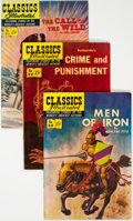 Golden Age (1938-1955):Classics Illustrated, Classics Illustrated First Editions Group of 5 (Gilberton, 1951-52) Condition: Average VF.... (Total: 5 Comic Books)