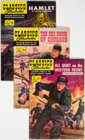 Golden Age (1938-1955):Classics Illustrated, Classics Illustrated First Editions Group of 5 (Gilberton, 1952-53) Condition: Average VF.... (Total: 5 Comic Books)