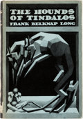 Books:First Editions, Frank Belknap Long The Hounds of Tindalos First Edition (Arkham House, 1946)....