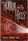 Books:First Editions, Frank Belknap Long The Horror From the Hills First Edition (Arkham House, 1963)....