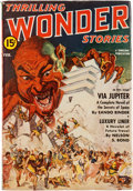 Pulps:Science Fiction, Thrilling Wonder Stories - February 1942 Yakima Pedigree (Standard)Condition: FN....