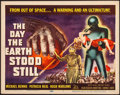"""Movie Posters:Science Fiction, The Day the Earth Stood Still (20th Century Fox, 1951). Very Fine.Title Lobby Card (11"""" X 14""""). Science Fiction.. ..."""