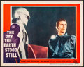 """Movie Posters:Science Fiction, The Day the Earth Stood Still (20th Century Fox, 1951). Very Fine-.Lobby Card (11"""" X 14""""). Science Fiction.. ..."""