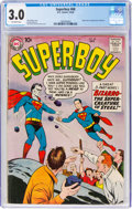 Silver Age (1956-1969):Superhero, Superboy #68 (DC, 1958) CGC GD/VG 3.0 Off-white pages....
