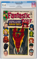 Silver Age (1956-1969):Superhero, Fantastic Four #54 (Marvel, 1966) CGC NM 9.4 White pages....