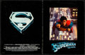 "Movie Posters:Action, Superman the Movie (Warner Brothers, 1978). Very Fine-. Program (20 Pages, 8.5"" X 11""). Action.. ..."
