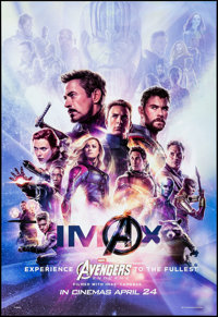"Avengers: Endgame (Walt Disney Studios, 2019). Rolled, Very Fine/Near Mint. International IMAX One Sheet (27"" X 40&..."