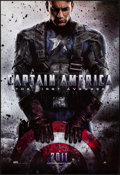 """Movie Posters:Action, Captain America: The First Avenger (Paramount, 2011). Rolled, VeryFine/Near Mint. One Sheet (27"""" X 40"""") DS, Advance...."""