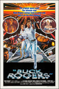 """Movie Posters:Science Fiction, Buck Rogers in the 25th Century (Universal, 1979). Folded, VeryFine-. One Sheets (2) (27"""" X 41""""). Style A & B, Victo..."""