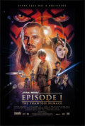 """Movie Posters:Science Fiction, Star Wars: Episode I - The Phantom Menace & Other Lot (20th Century Fox, 1999). Rolled, Very Fine. One Sheet (27"""" X 40"""") & S... (Total: 2 Items)"""