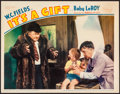 """Movie Posters:Comedy, It's a Gift (Paramount, 1934). Very Fine-. Lobby Card (11"""" X 14"""").Comedy.. ..."""