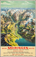 Movie Posters:Miscellaneous, Meiringen, Switzerland (1960). Rolled, Very Fine-....
