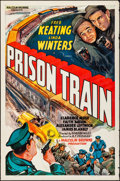 """Movie Posters:Crime, Prison Train (Equity, 1938). Rolled, Fine/Very Fine. One Sheet (27""""X 41""""). Crime.. ..."""