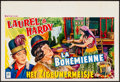 Movie Posters:Comedy, The Bohemian Girl (New Star, R-1950s). Folded, Very Fine-....