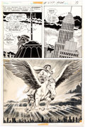 Original Comic Art:Panel Pages, Curt Swan and Murphy Anderson Superman #249 Story Page 9 Original Art (DC Comics, 1971). ...