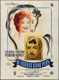 Movie Posters:Comedy, Once is Enough (VOG/Distri Film, 1946). Folded, Fine/Very ...