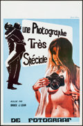 "Movie Posters:Adult, Une Photographe Tres Speciale & Other Lot (Stellor Films,1980). Very Fine+. Belgians (2) (14.25"" X 21.75""). Adult."