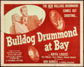 Movie Posters:Mystery, Bulldog Drummond at Bay & Other Lot (Columbia, 1947). Roll...