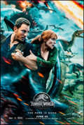 """Movie Posters:Action, Jurassic World: Fallen Kingdom (Universal, 2018). Rolled, VeryFine/Near Mint. One Sheets (2) (27"""" X 40"""") DS Advance,..."""