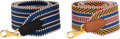 "Luxury Accessories:Accessories, Hermès Set of Two: 50mm ""Cavale"" Bag Straps. C, 2018. Condition: 1. See Extended Condition Report for Sizes.... ... (Total: 2 Items)"